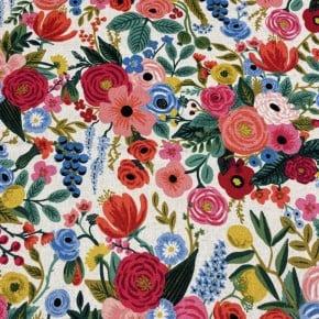 Toile de coton et lin Cotton+steel Garden Party Clair x10cm