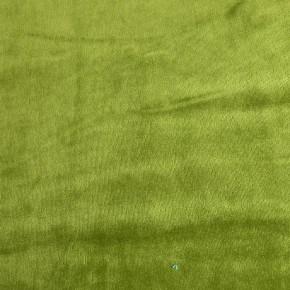 Tissu Velours Nicky Vert Olive x10cm