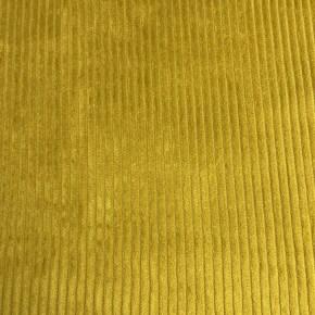Tissu Velours Cotelé coton Ocre x10cm