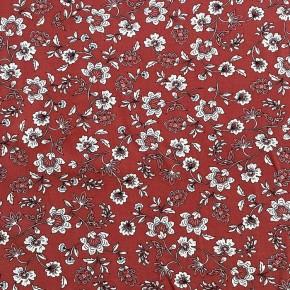 Tissu Viscose Terra Cotta Batik x10cm