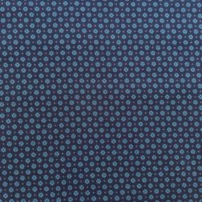 Tissu Coton Paul Marine x 10cm