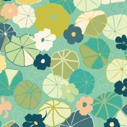 Tissu jardin anglais by tatie fofie