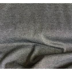 Tissu Maille viscose Lurex Noir