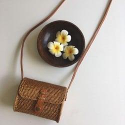 Sac Balinais en rotin Style Pochette