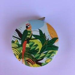 Mètre ruban enrouleur Perroquet Vert Bohin