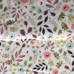 Tissu Vent de Fleurs x 10cm
