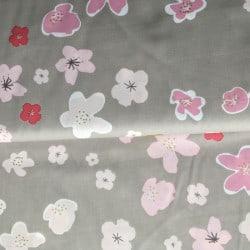 Tissu Bouquet Sauvage Grandes Fleurs
